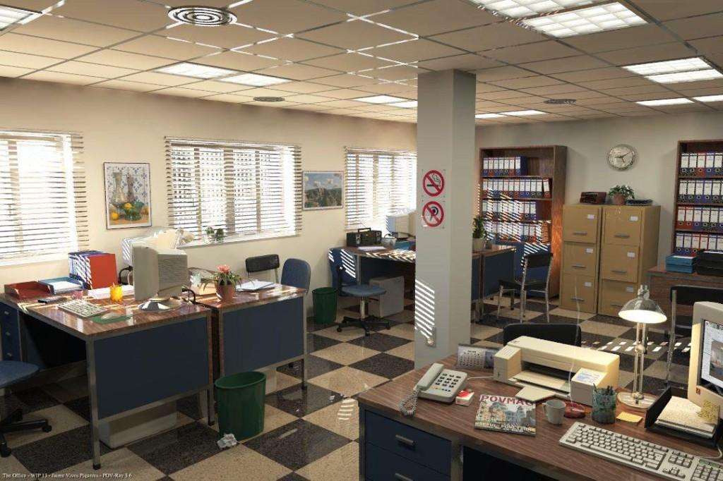 Офис МЛМ компании.