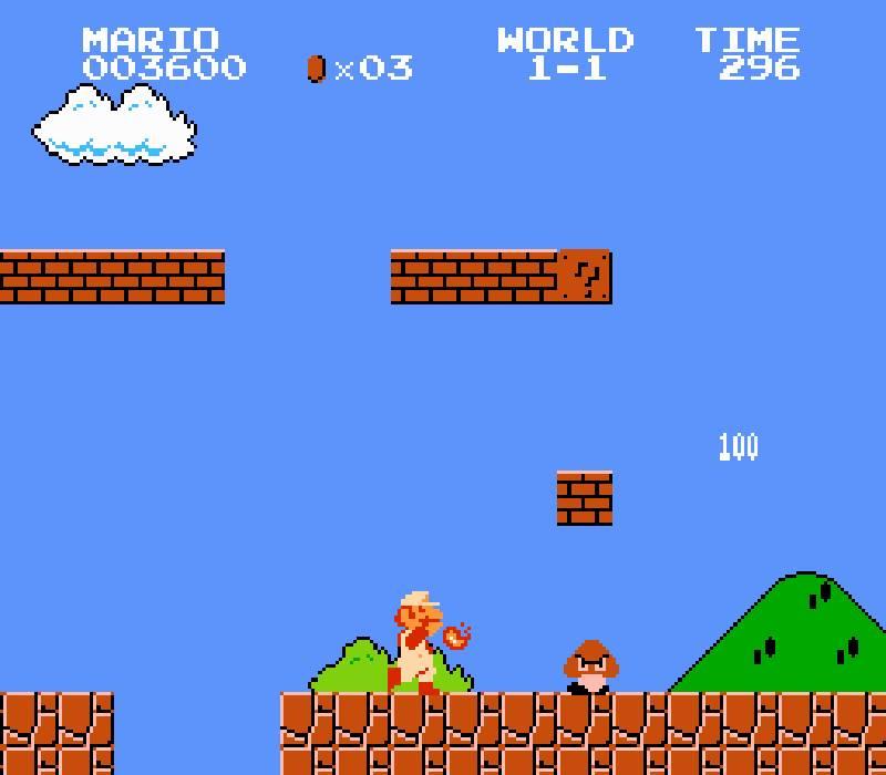 """Игра Марио для """"МЛМ это легко"""""""