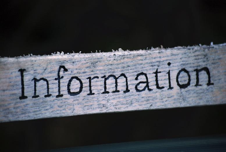 Информация - Information