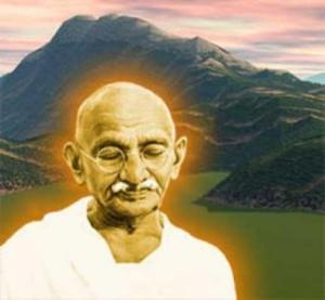 Ганди цитаты.