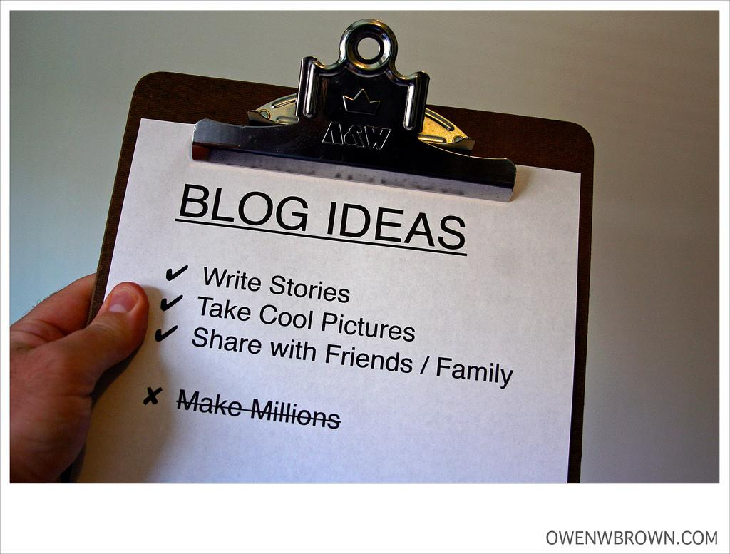 Идеи для МЛМ блога.